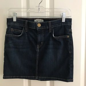 Current/Elliot denim skirt